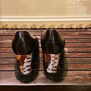 Anyi Lu Shoes - Anyi Lu Dark Brown Heels